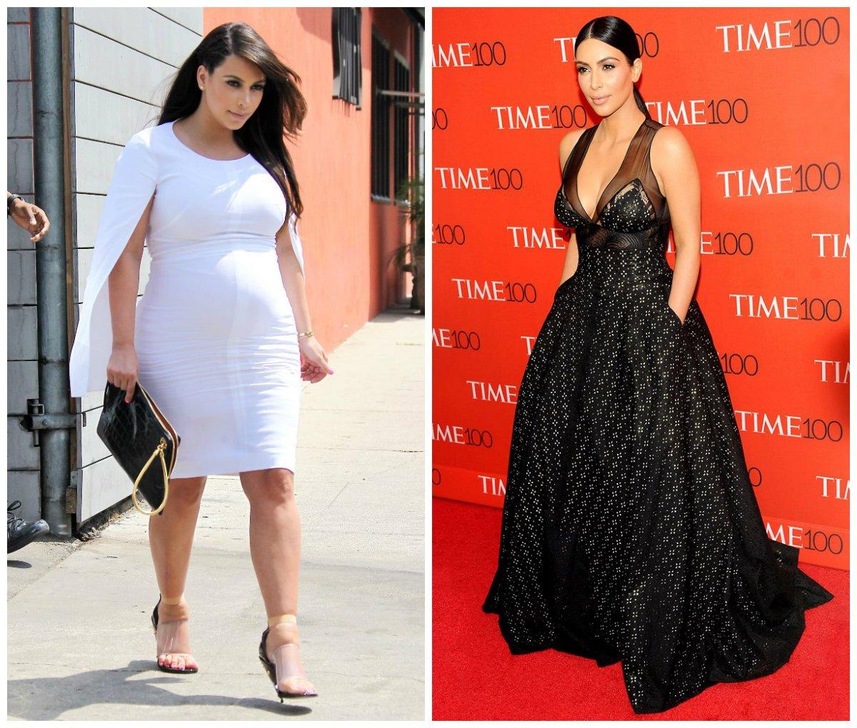 Звезды до и после диет фото