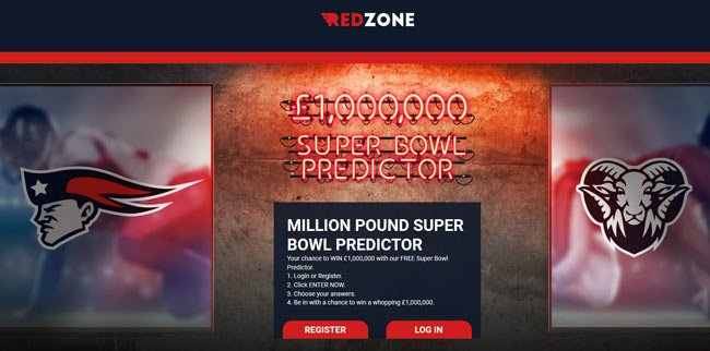 redzone superbowl jackpot