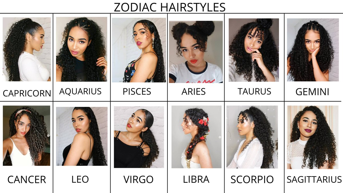 Curly Hairstyles Based On The Zodiac Signs I Highkey