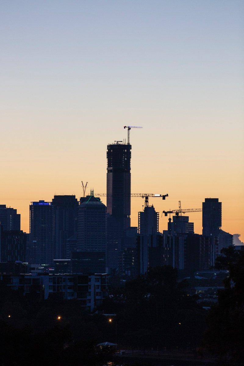 Queen of the Brisbane skyline. https://t.co/SapSGAulCY #top1 #brisbaneskytower #billbergia #brisbane #skyline