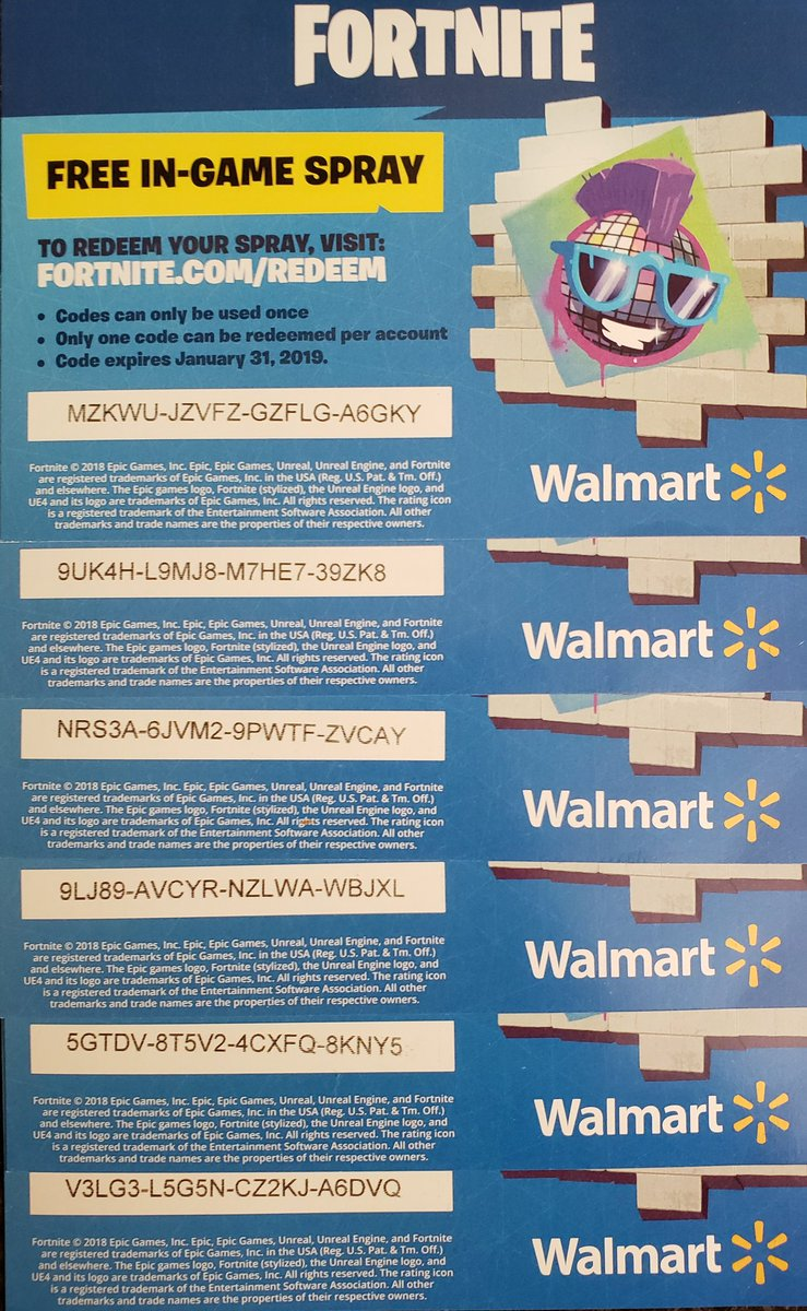 fortnitewalmartspray hashtag on Twitter