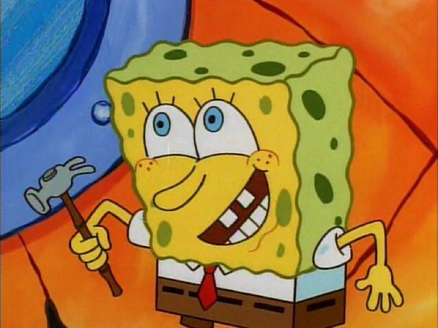 spongebob quote of the day en hello squidward i mean