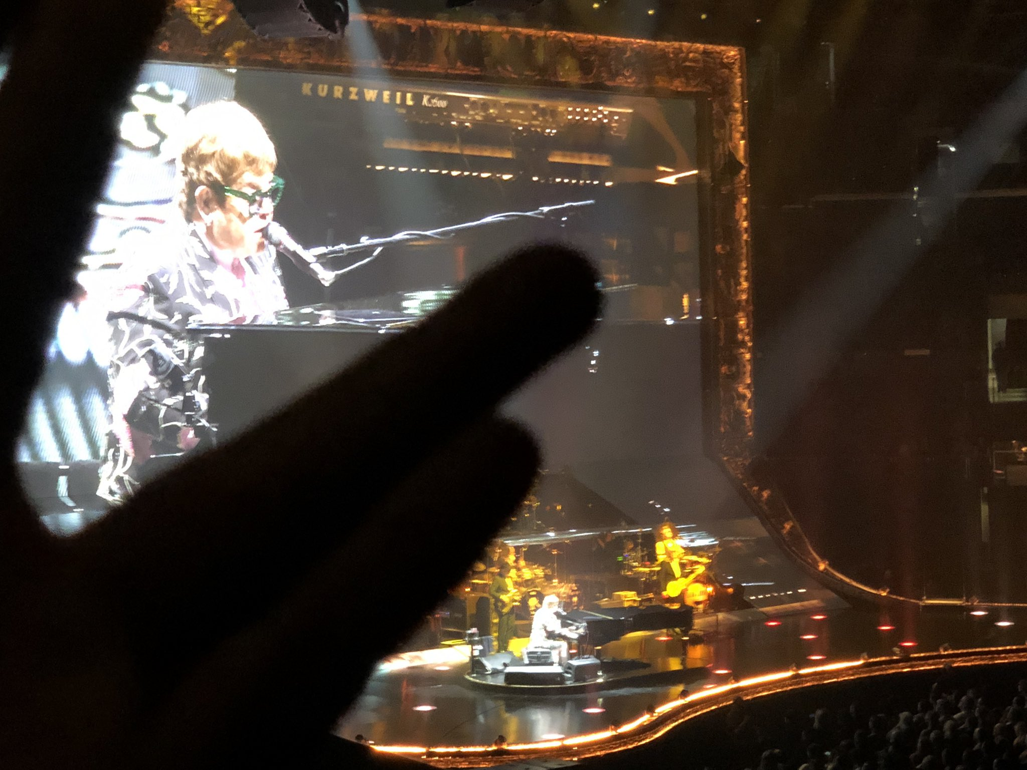 Steve Vai On Twitter Saw The Great Sir Elton John The