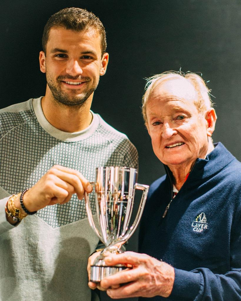 Lucky enough to spend some time with this legend while I was in Australia. 🏆 #AusOpen