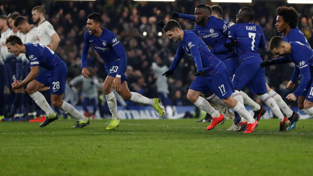 Video: Chelsea vs Tottenham Hotspur