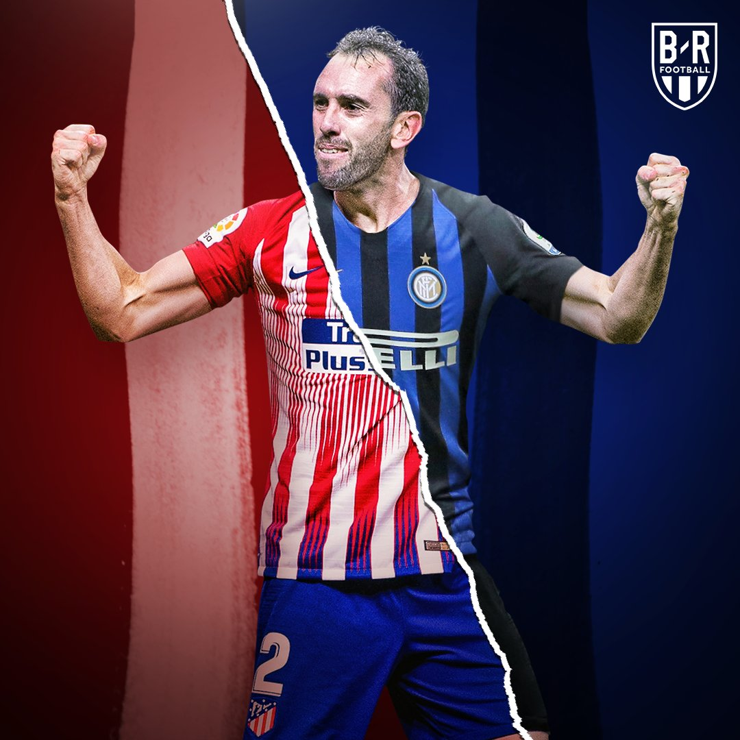 Diego Godin will sign for Inter Milan next summer on a free transfer, and has already had a medical in secret, reports  @FabrizioRomano