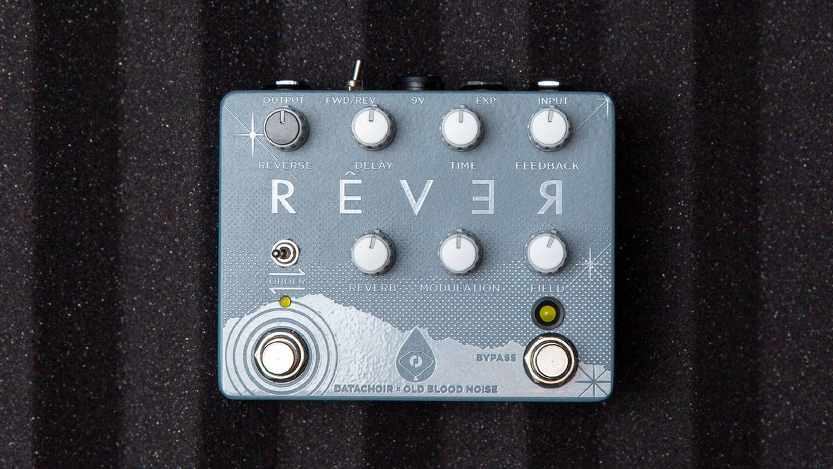 i caved and bought an old blood rever reverse reverb delay pedal. Black Bedroom Furniture Sets. Home Design Ideas