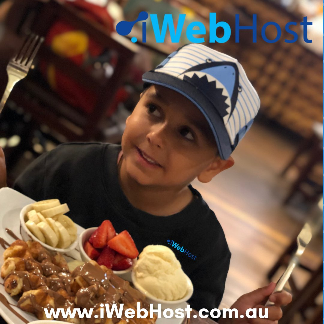 School Holidays and iWebHost - SSD Web Hosting