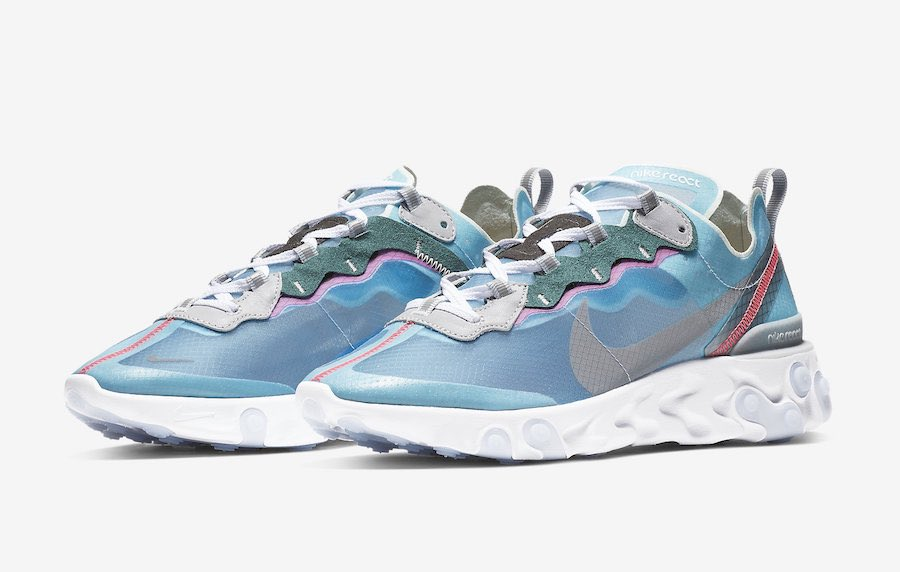 "8c735a0c84a Nike React Element 87 ""Royal Tint"" to release on February 15th https    sneakerbardetroit.com nike-react-element-87-royal-tint-aq1090-400-release-date   ..."
