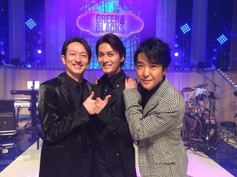 石川禅さん&加藤和樹さん&僕 この3人で「星よ」を歌わせて 頂いております。 グリブラ wowow