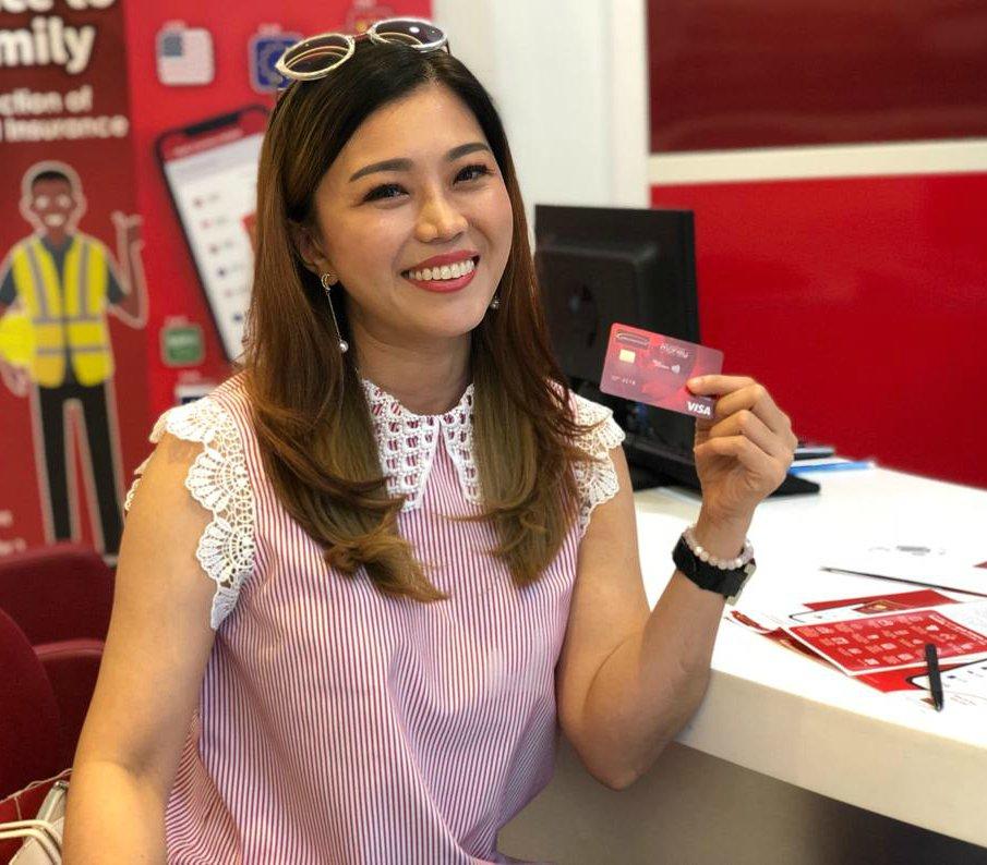 2bdc387968 Sunshine Kelly has gotten her  Merchantrade Money VISA Prepaid card! 💳  What are you