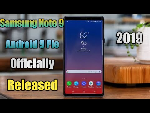 note 9 android pie on JumPic com