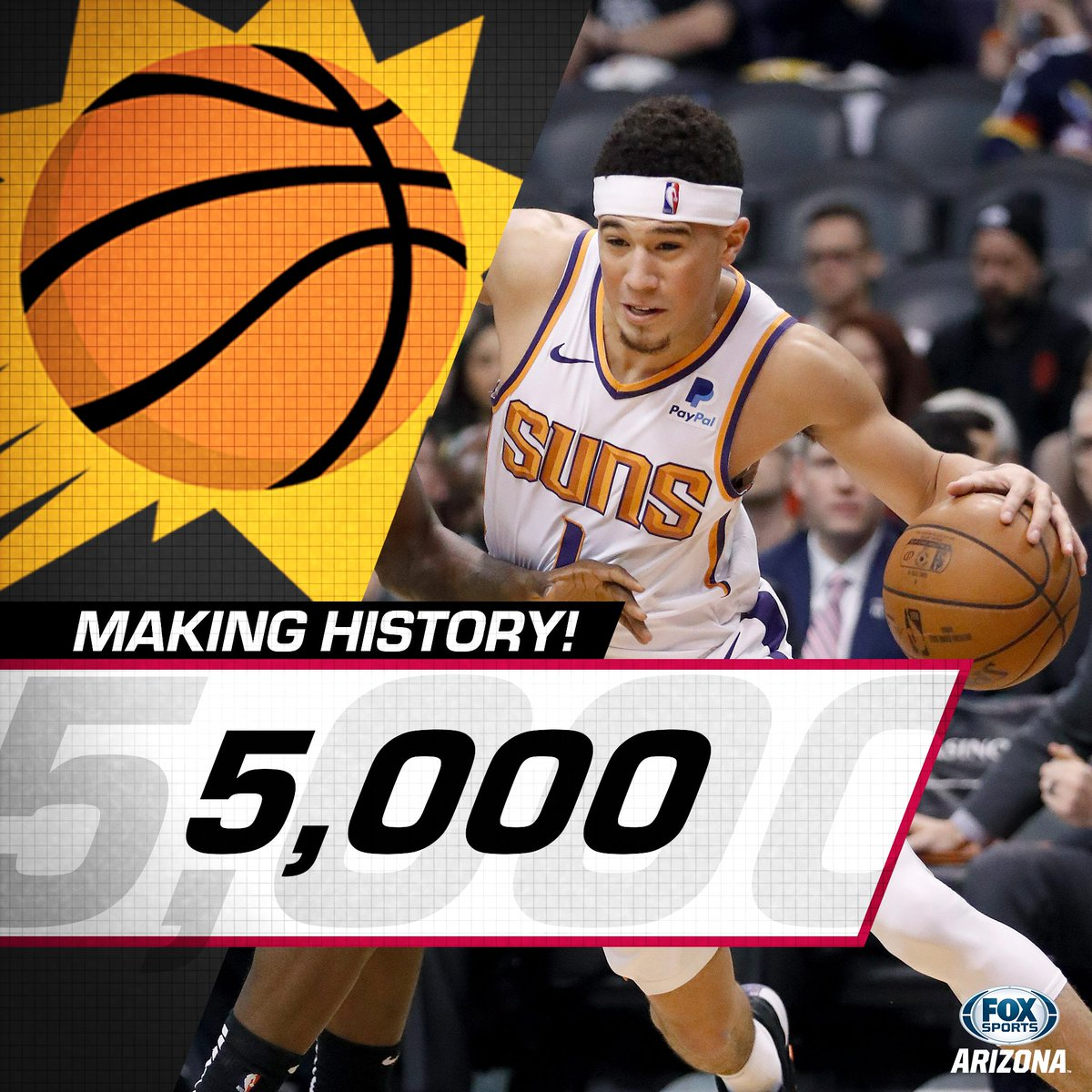 timeless design 53793 e470a Devin Booker  Devin Booker tonight became the 5th youngest in history to  score 5,.