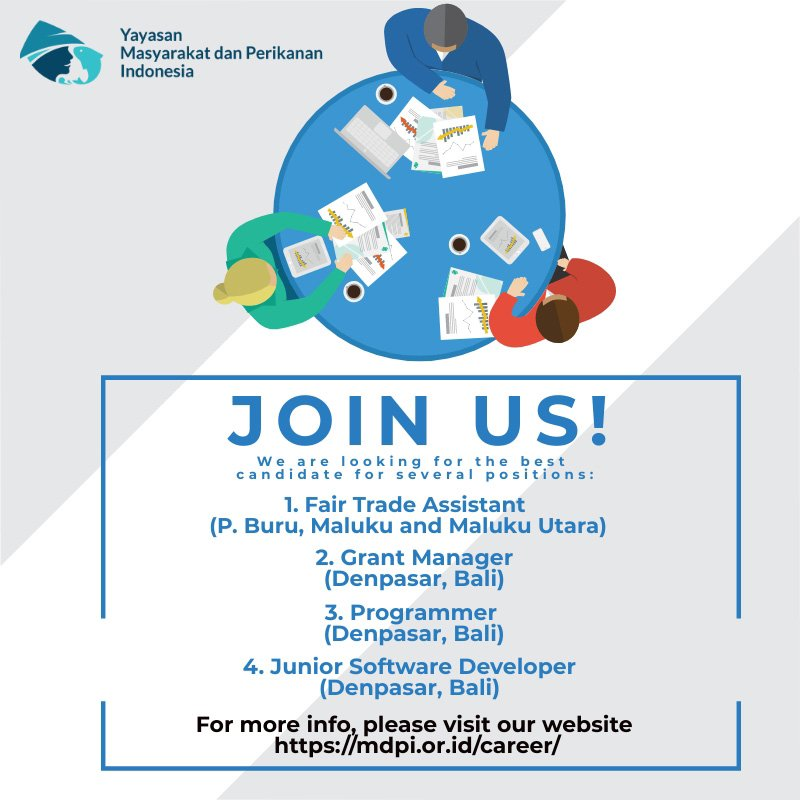 Wanna join us? #MDPI #HappyPeopleManyFish