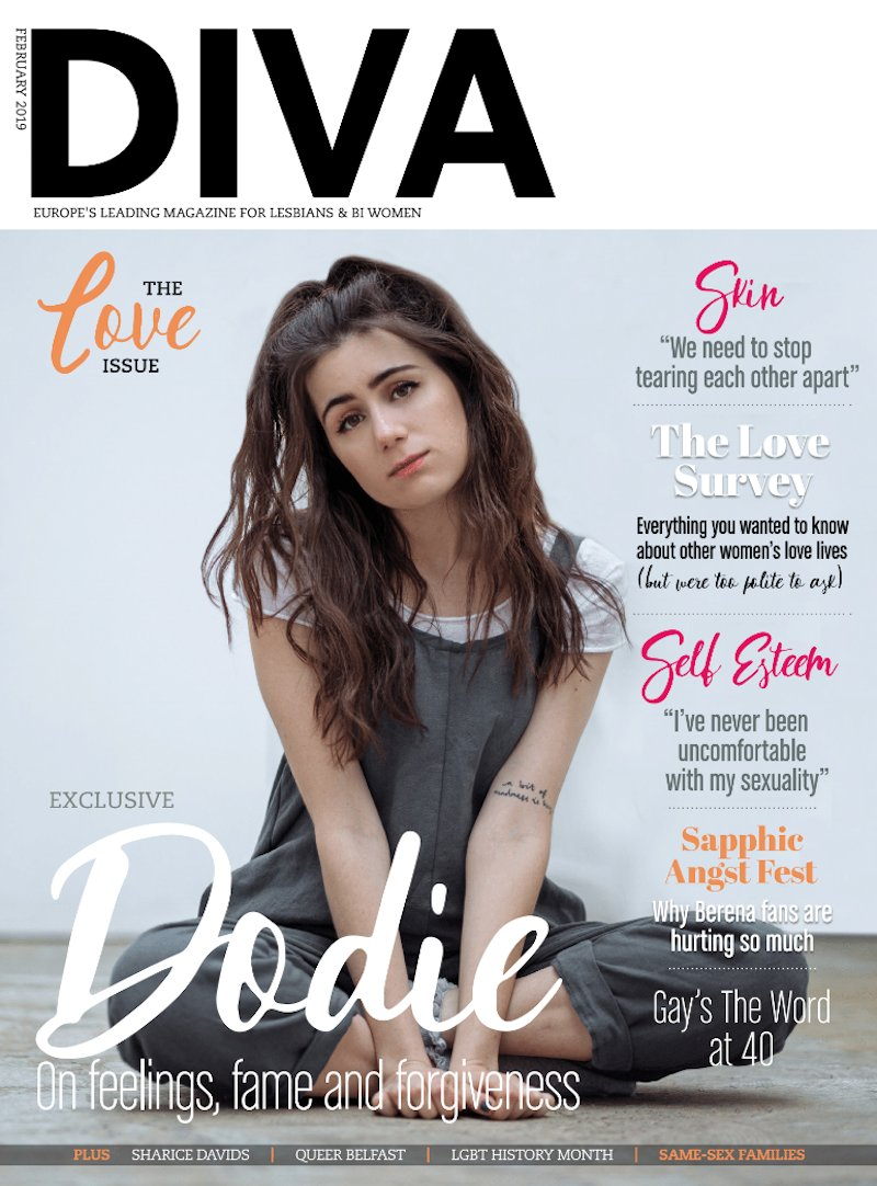 💝 Our gorgeous new #Love issue is out now and @doddleoddle is our cover star! Also feat: @skinskinny, @SELFESTEEM___, @sharicedavids, @LGBTHM, @gaystheword, @sharicedavids, @Kikiarcherbooks & more! Get yours at http://divadirect.info / http://divadigital.co.uk 📸: Kyle Jones