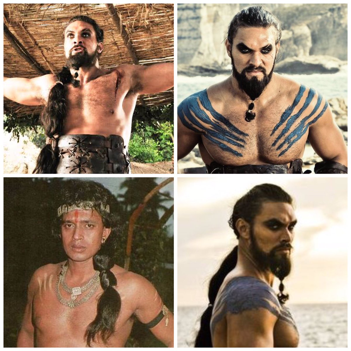 Khal drogo from GOT is my favourite character