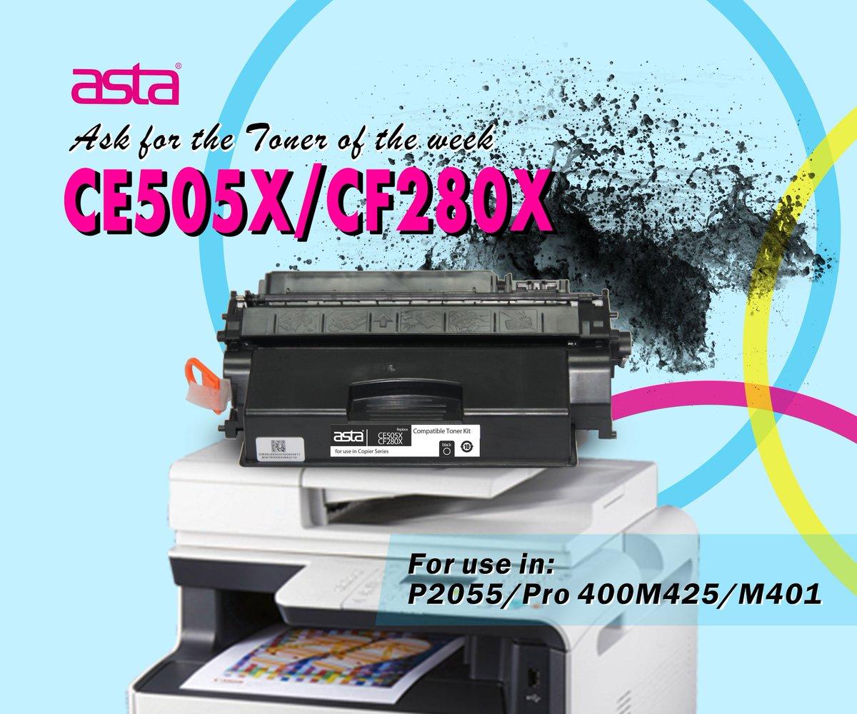 BRAND NEW GENUINE FACTORY SEALED HP CE505X BLACK HIGH YIELD TONER CARTRIDGE 2055