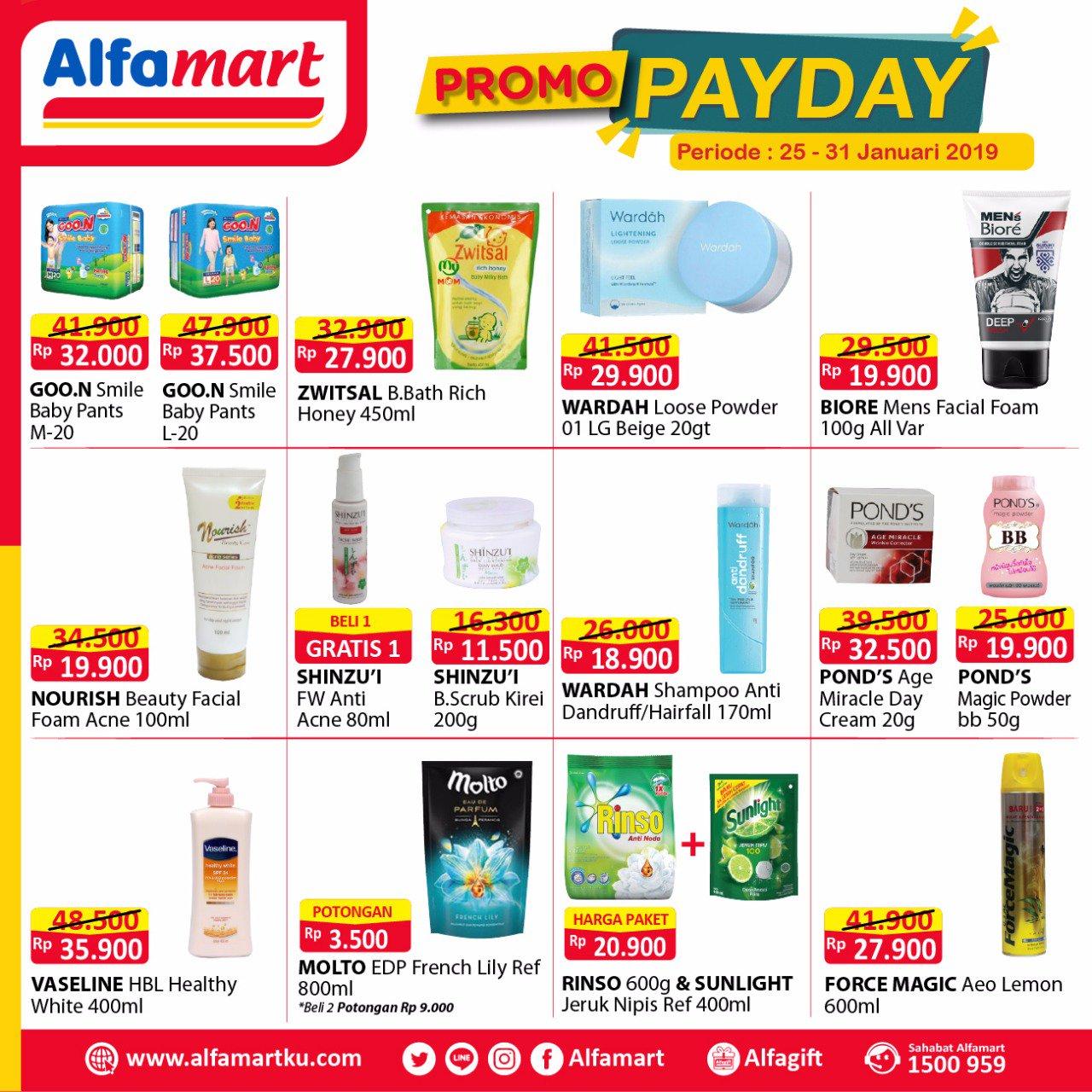 Alfamart On Twitter Promo Payday Telah Tiba Segera Dapatkan Harga Serba Murahnya Cuma Di Alfamart Periode 25 31 Januari 2019