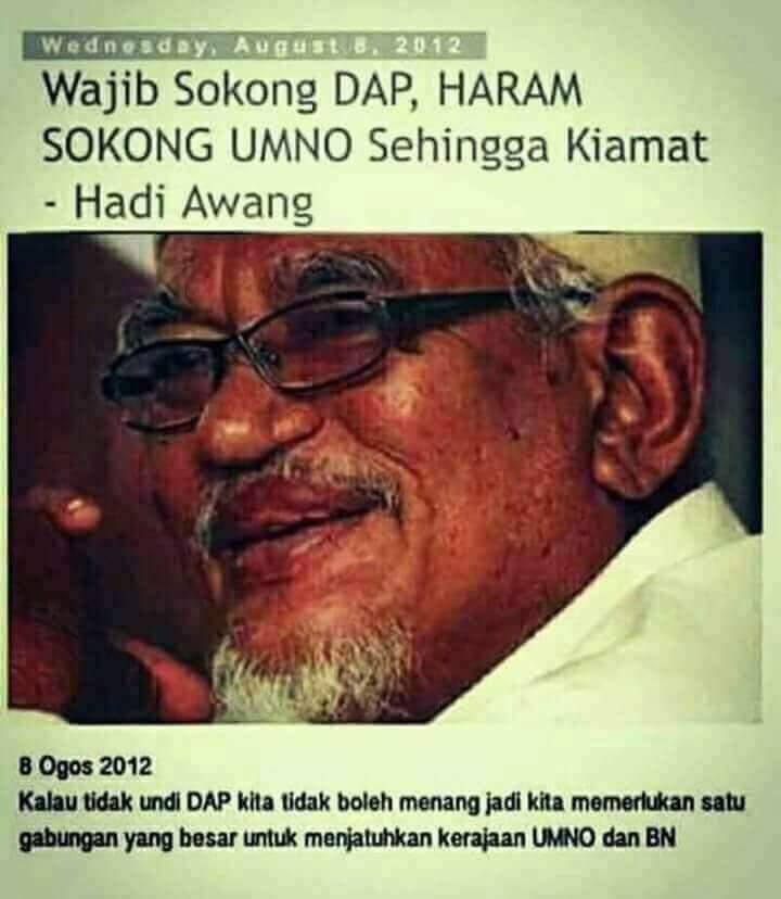 Image result for wajib sokong dap haram sokong bn