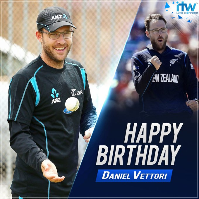 Happy Birthday to legend Daniel Vettori.