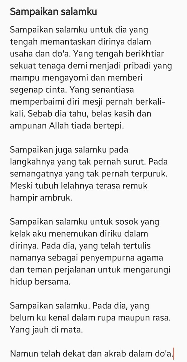 #jumatpuisi by unknown <br>http://pic.twitter.com/wFFyt1Mckd