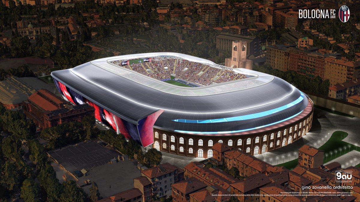 Il nostro nuovo Stadio Dall'Ara 🏟  #WeAreOne 🔴🔵