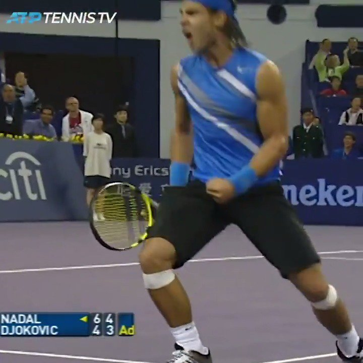 Djokovic vs Nadal greatest ATP points: a thread 👀 First up, back to 2007 in Shanghai for this epic...