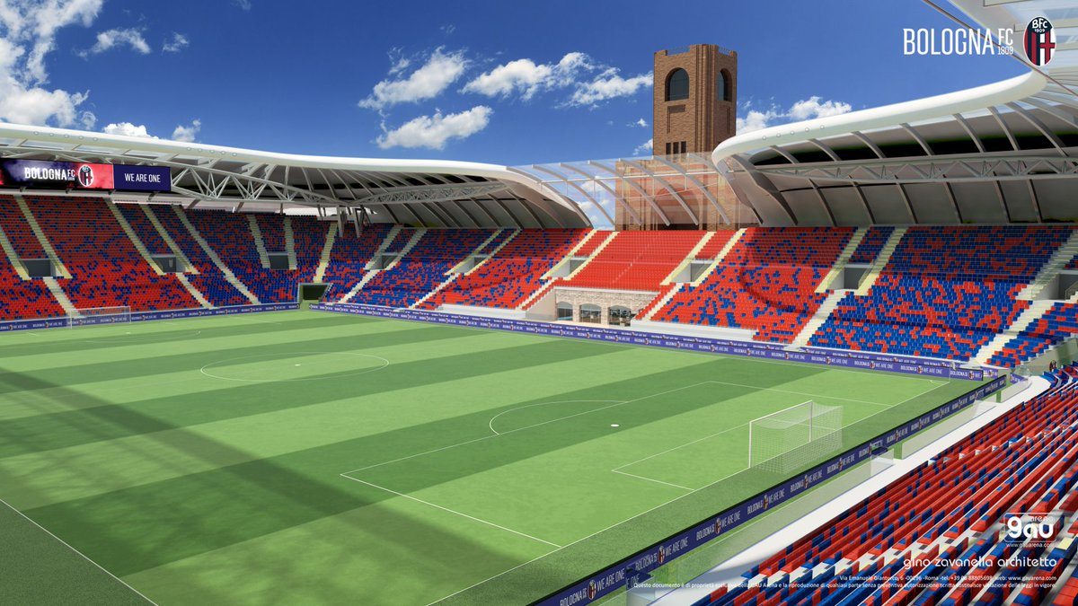 Bologna Fc 1909 On Twitter Say Hello To The New Stadio Dall Ara Weareone