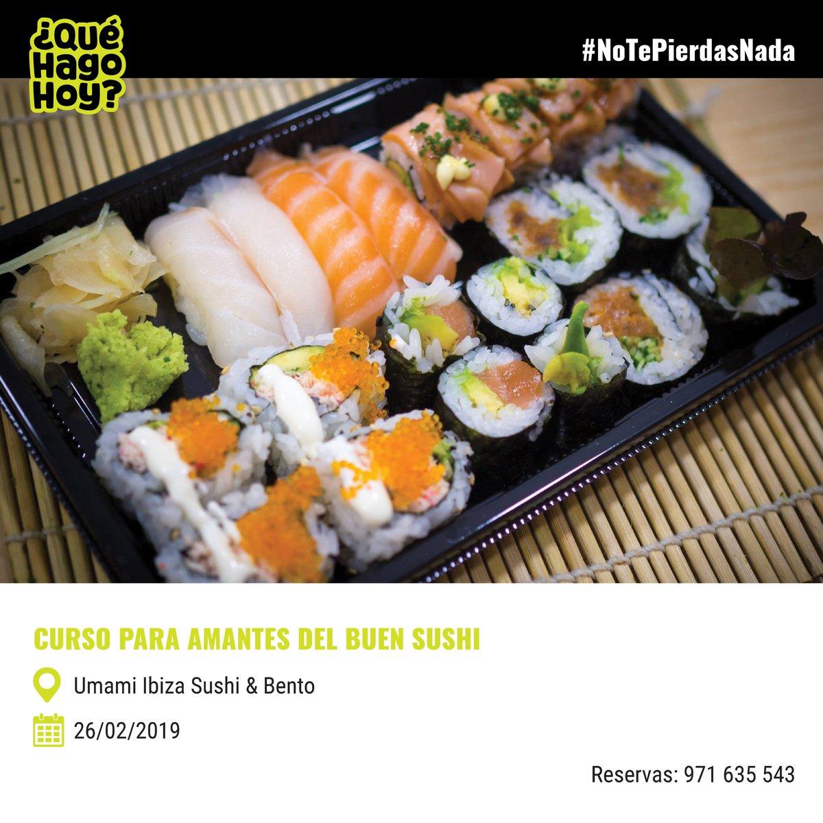 ‼️Quedan las últimas plazas del curso para amantes del buen sushi‼️ Apúntate ya 🍱🍘🍙🍥🍤  👉🏼 Más actividades: http://www.quehagohoyibiza.com   #ibiza #notepierdasnada #food #foodie #sushi #lovefood