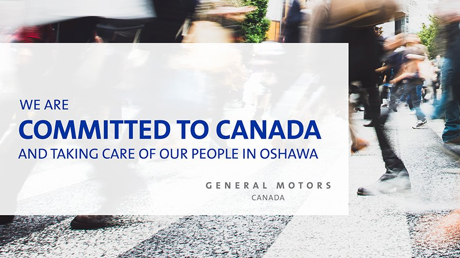 Gm Canada On Twitter Since 2009 Gm Has Shown Our Commitment To