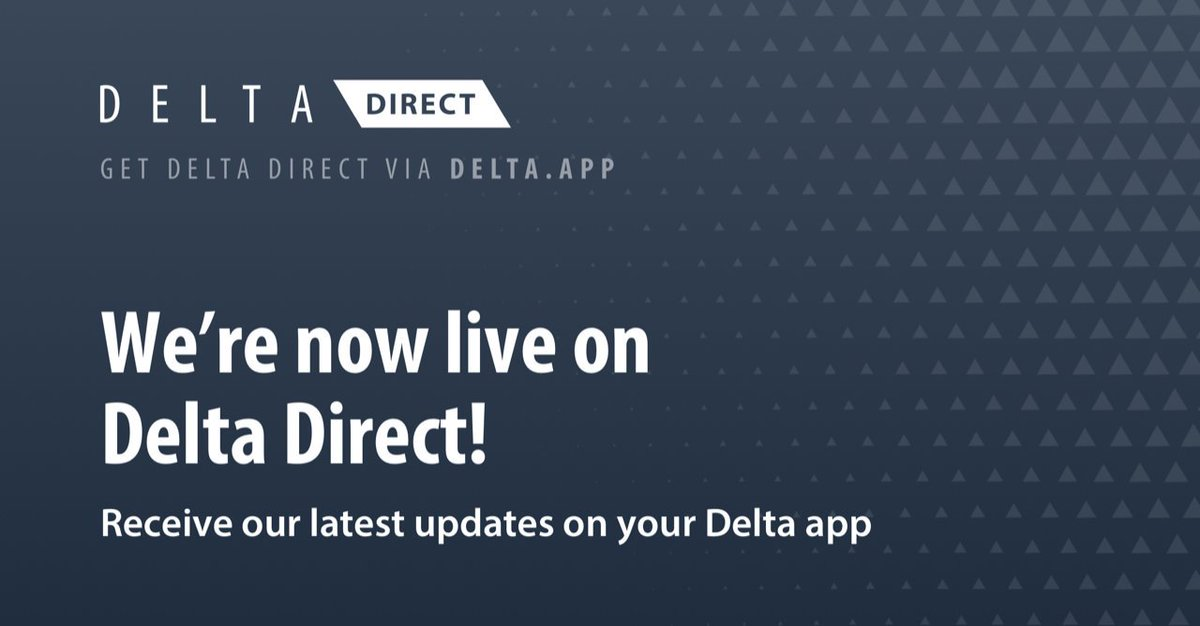 we are live on Delta Direct! All our latest updates will now be directly available on @get_delta ! Make sure to enable notifications for Direct updates so you never miss out. $ZP #zenprotocol #DeltaDirect