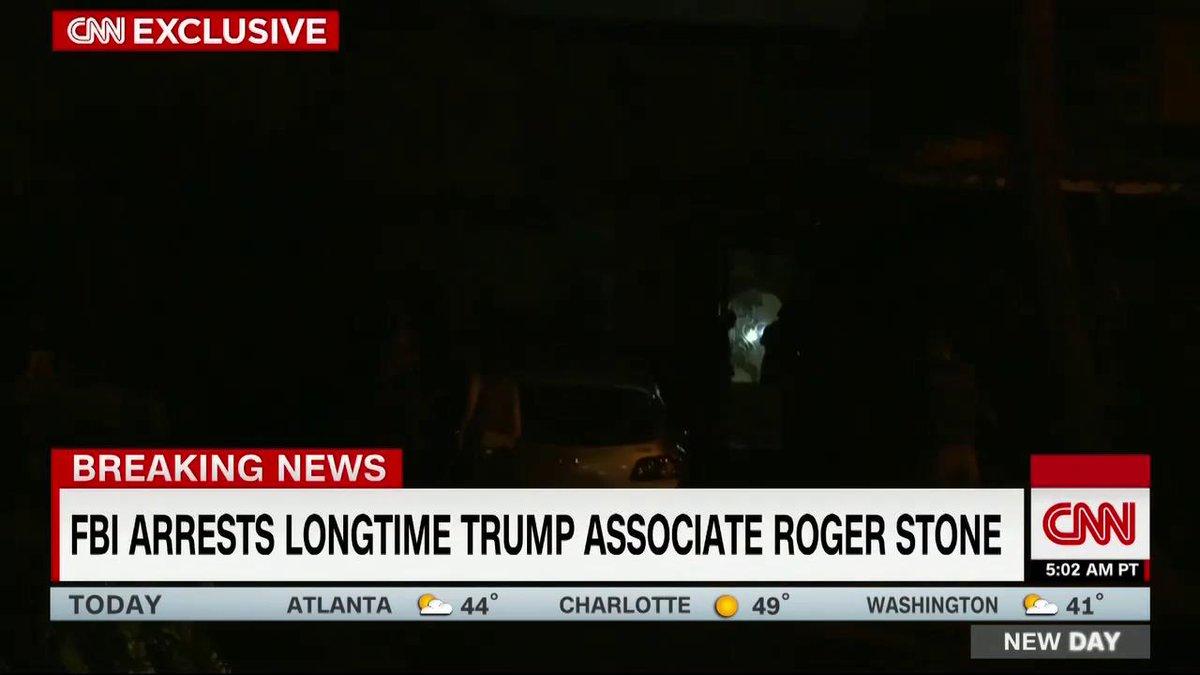 .@davidgshortell reports on the FBI arrest of Roger Stone