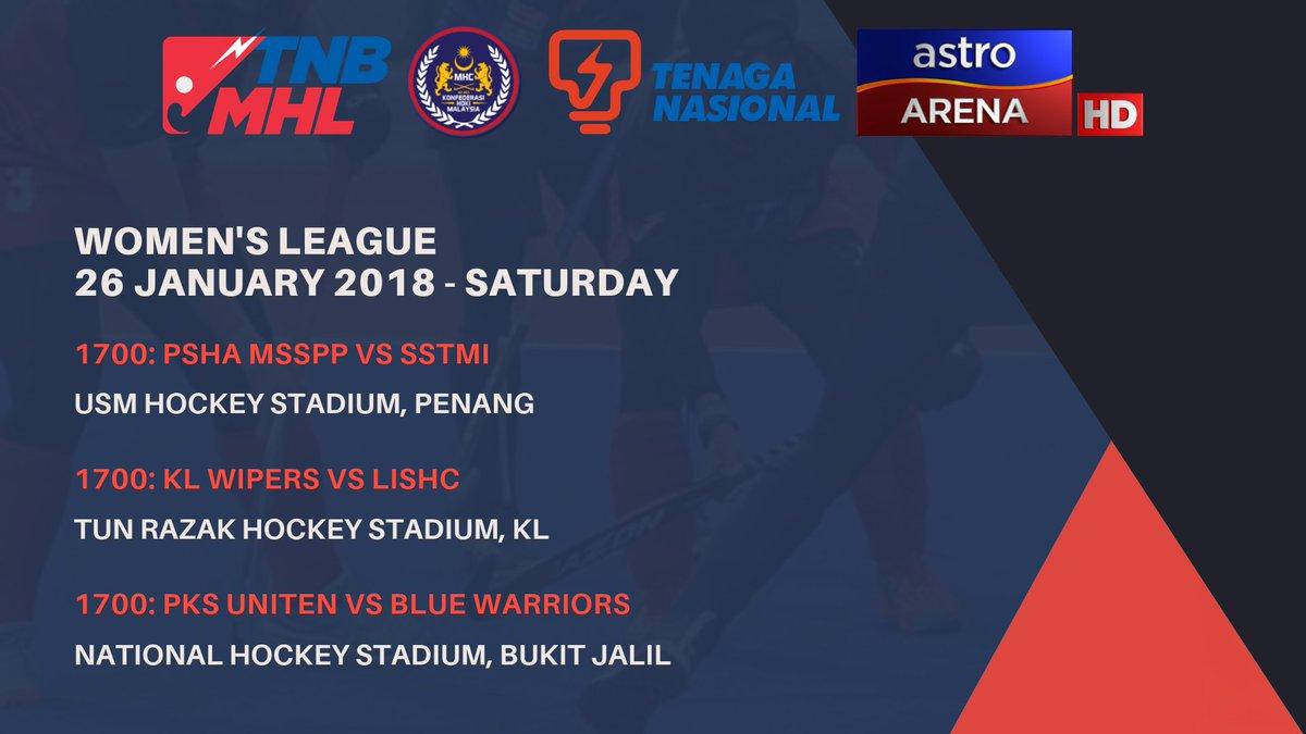 Mhc On Twitter Tnb Malaysia Hockey League Women S 2019 Is