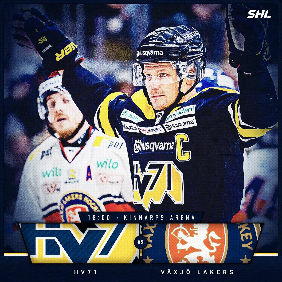 Hv71 On Twitter Gameday Vaxjolakers 18 00 Kinnarps Arena Https T Co 6w7yznuo2s Hv71