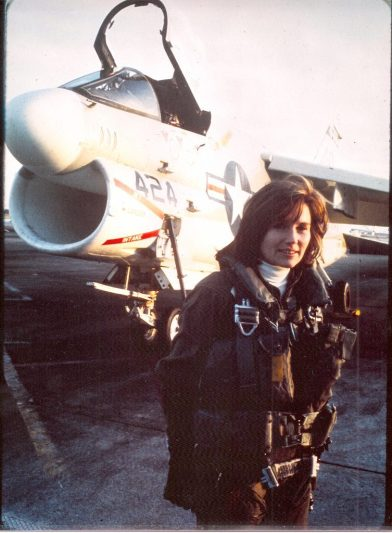 My friend Capt. Rosemary Mariner has died. Naval aviator wings 1974, first woman to fly tactical fighter jet 1975, first woman command ave squadron 1991 Gulf War, pres of @WomenMilAv8rs, fought combat exclusion, Mentor and Friend to countless. Irreplaceable.