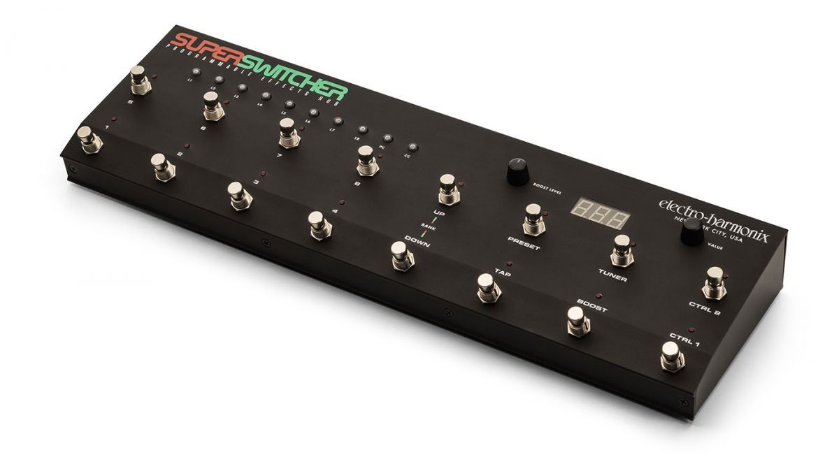 . @EHX unveils Mono Synth, updated Attack Decay and Super Switcher #NAMM2019  https://buff.ly/2RQh5QD