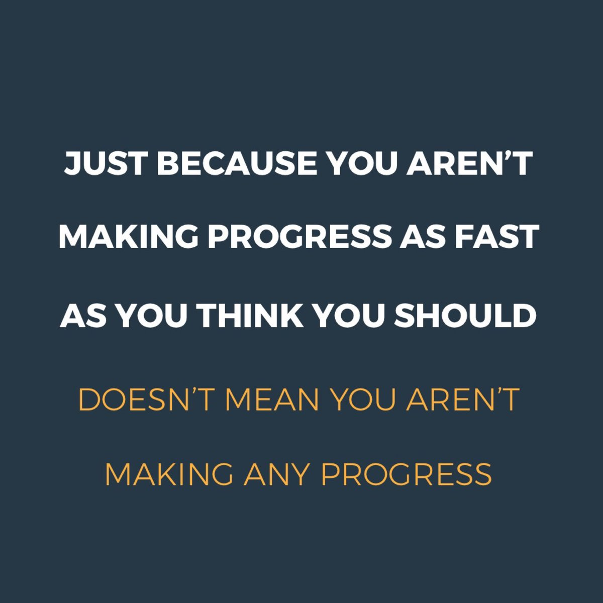 Keep going 👊   Progress looks different for everyone. It takes time and many many small changes to get to where you want to go. Don't quit because you aren't where you want to be. Keep going. You will get there. #weightloss #Dieting #goals2019 #fitnessmotivation