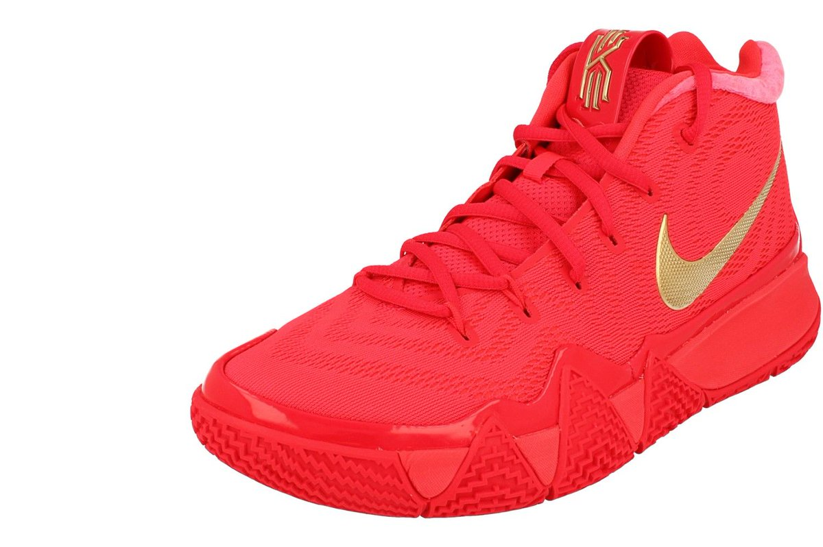 9a513dfc00c0 Nike Kyrie 4 Mens Hi Top Basketball Trainers 943806 (Red Orbit Gold 602)  https   buff.ly 2sOL7oU   Shop Direct  nike  kyrie  nikebasketball   basketball ...