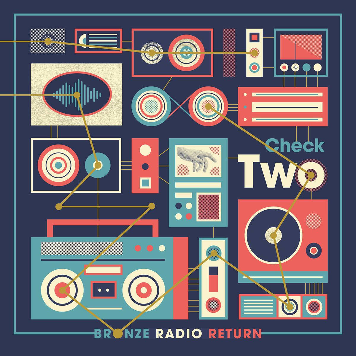Image result for check two bronze radio return