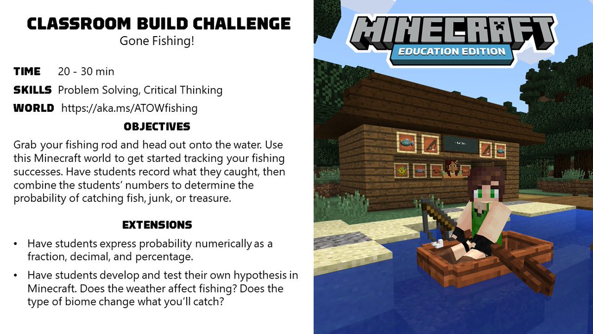 Minecraft Education on Twitter: