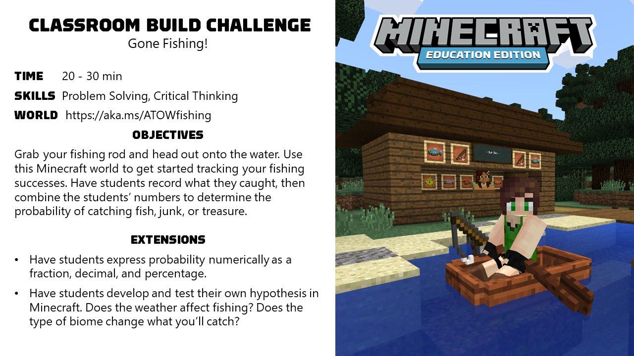 Minecraft Education on Twitter: