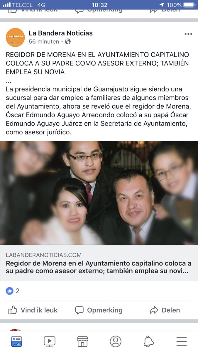 @lopezobrador_ en apoyo a la lucha contra corrupción y nepotismo, y de ser cierto lo que se afirma en la nota, que acción piensa tomar al respecto ?