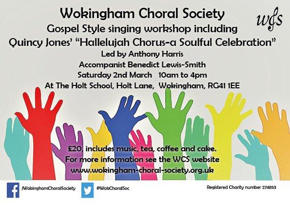 Wokingham Choral Soc (@WokChoralSoc)   Twitter