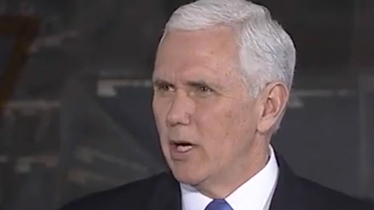 When you notice that Mike Pence always. talks. like. this. 🔊