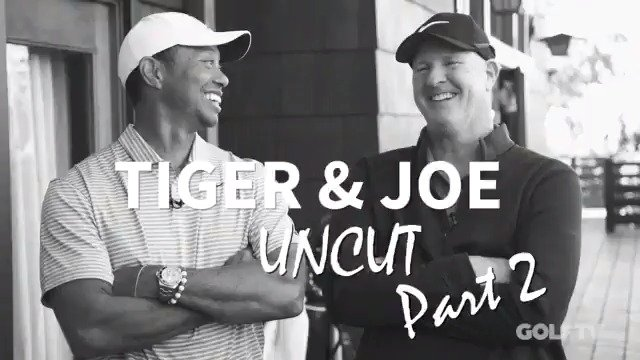 Tiger & Joe Uncut PART 2:  There are some things you just shouldn't say as a caddie.