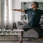Image for the Tweet beginning: ($MRNJ) Deepak Chopra recommends Meditation