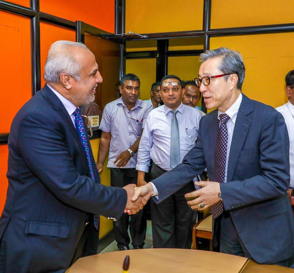 Extending gratitude to the Japanese aid agency, @jica_direct_en, for agreeing to provide assistance for 20 water supply projects powered by solar energy in some areas with acute problems of access to drinking water in  the North, East, Western and Central provinces.#SriLanka