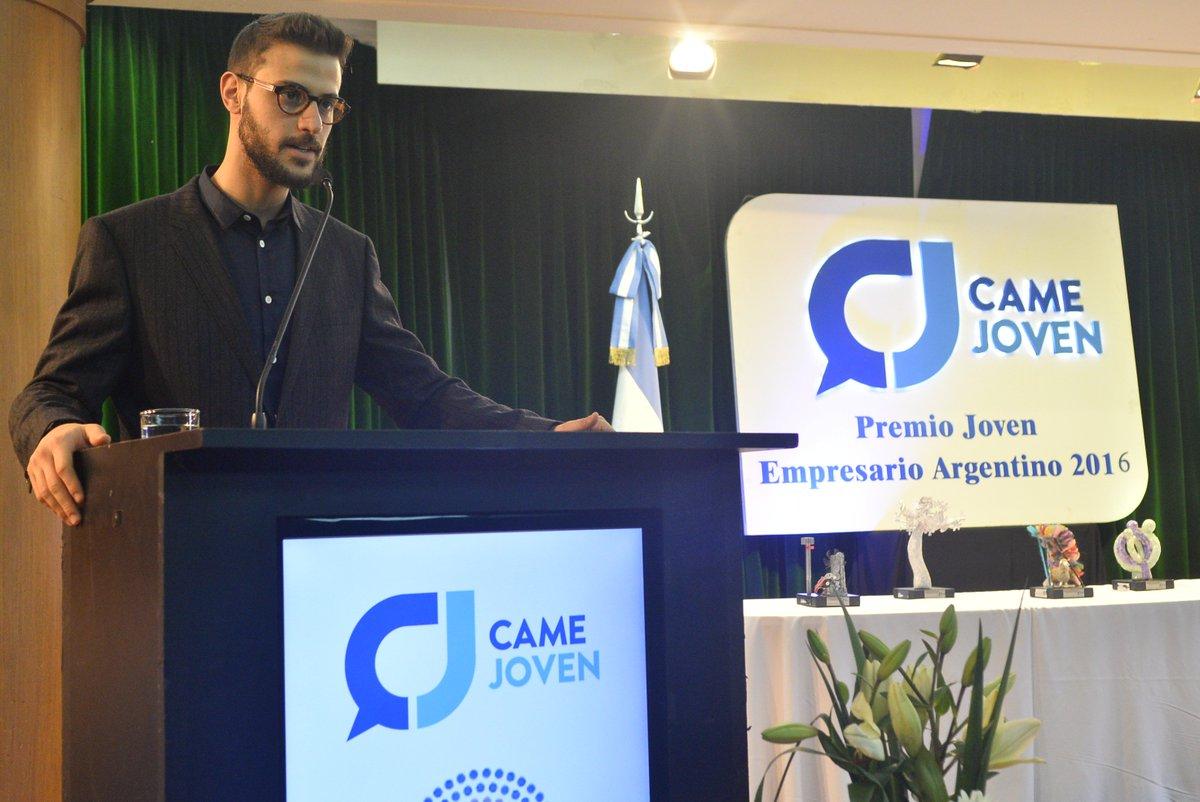 La edición 2016 del #PremioCAMEJoven fue conducida por el reconocido periodista @diegoleuco!  ¡Esperamos tus sugerencias para la Ceremonia de este año!🏆