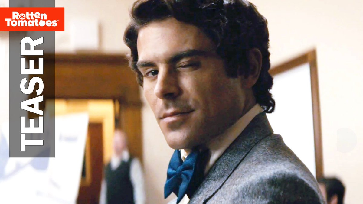 ZAC EFRON PLAYING TED BUNDY?!?! I was not expecting that but I'm not mad