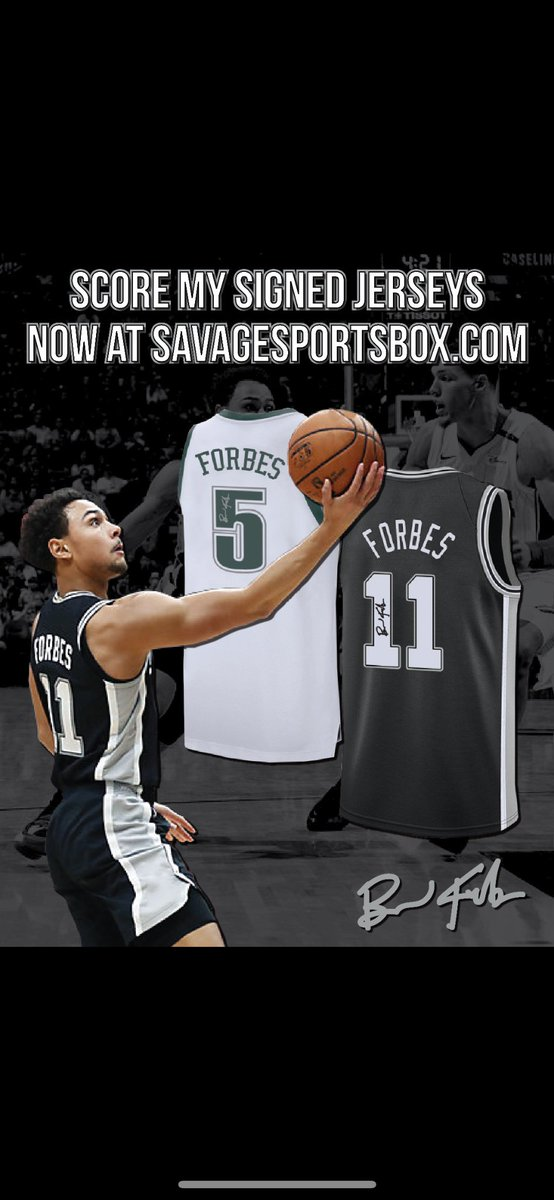 Hey #Spurs and #MichiganStFans score my autographed jersey right now https://goo.gl/f8KpFR